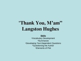 """""""Thank You,  M'am"""" by Langston Hughes"""