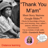 """Thank You M'am"" by Langston Hughes: A Short Story Unit"