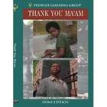 Black History-Thank You M'am by Langston Hughes Entire Short Story Bundle