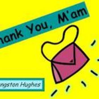 Black History Month-Thank You M'am by Langston Hughes Entire Short Story Bundle