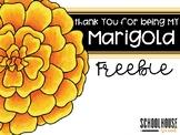 Thank You Marigold