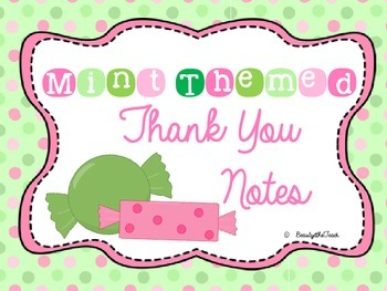 Thank You!  Mint Theme
