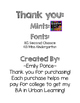 Thank You Mints