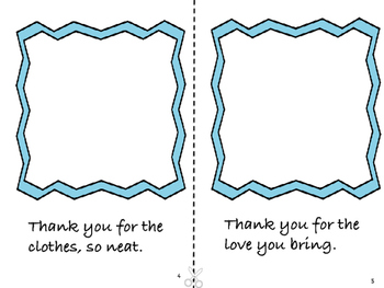 Thank You, Mom!  Mother's Day Booklet