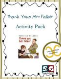 Thank You, Mr. Falker Activity Pack - 12 Common Core Activ