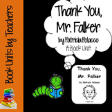 Thank You, Mr. Falker by Patricia Polacco Book Unit