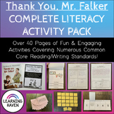 """Thank You, Mr Falker"" COMMON CORE Literacy Activity Pack"