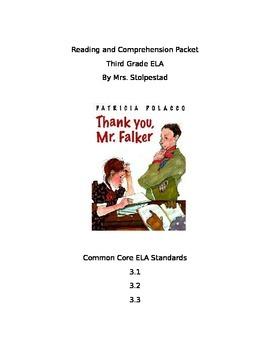 Thank You, Mr. Falker Comprehension Packet