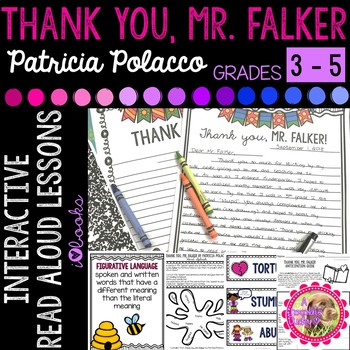 Thank You Mr. Falker Interactive Read Aloud Lessons