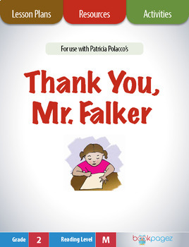 Thank You, Mr. Falker Lesson Plans & Activities Package, Second Grade (CCSS)