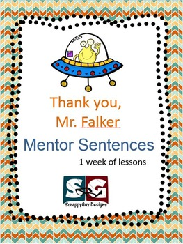 Mentor Sentence - Thank You, Mr. Falker Lesson One Week