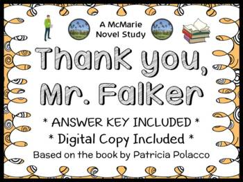 Thank You, Mr. Falker (Patricia Polacco) Novel Study / Comprehension
