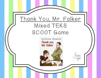 """""""Thank You, Mr. Falker"""" Scoot Game (STAAR-aligned questions)"""