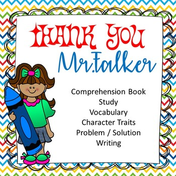 Thank You Mr. Falker comprehension packet writing character traits