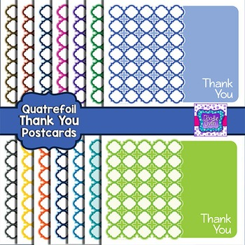 Thank You Note - Postcard