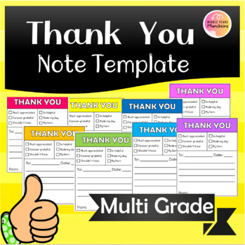 Thank-You Note Templates
