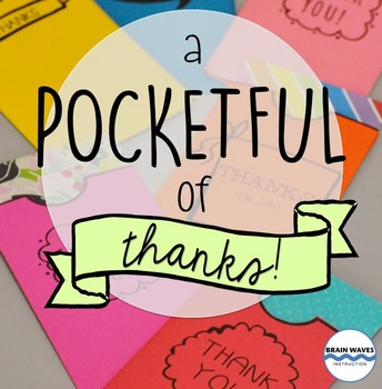 Thank You Note Writing and Pockets