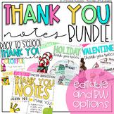Thank You Notes Bundle