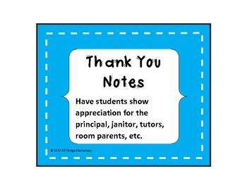 Thank You Notes Bundle- Staff Appreciation