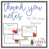Thank You Notes Cards for all Holidays