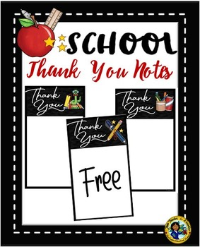 Thank You Notes ~ FREE