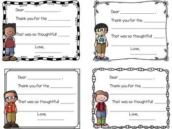 Thank You Notes ~Melonheadz Kids