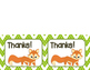 Thank You Notes {Woodland Animals}