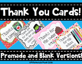 Thank You Notes - Thank You Cards- From the Teacher