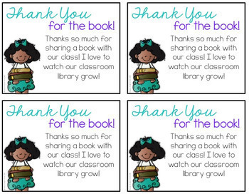 Thank You Notes for Students & Families