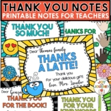 Thank You Notes from Teachers