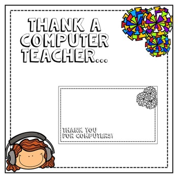 Thank You Notes to the Teacher