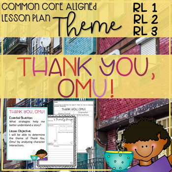 Thank You Omu By Mora 24 Book Extension Activities No Prep Tpt