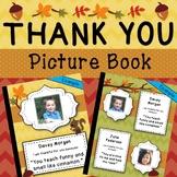 Thank You Photo Book for Teachers, Student Teachers, Princ