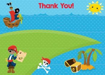 Thank You - Pirate Boy Theme