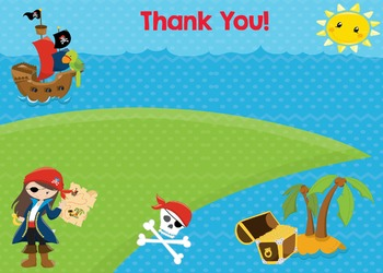 Thank You - Pirate Girl Theme