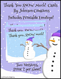 Thank You SNOW Much! Cards