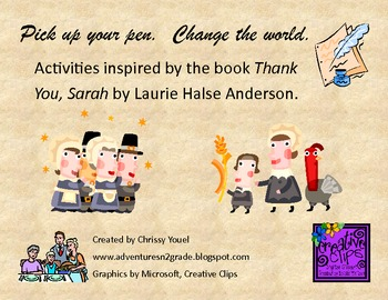 Thank You, Sarah:  Activities Inspired by the Book