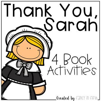Thank You, Sarah Book Activities