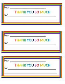 Thank You/Staff Appreciation