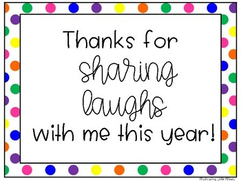 Thank You Tags - Open House