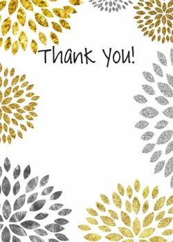 Thank You / Teacher Appreciation / Mother's Day / Grandparents  /Clip Art Bursts