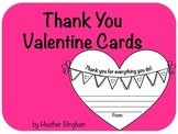 Thank You Valentines