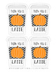Thank You a Latte Gift Tags - Pumpkin