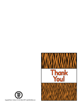Thank You cards APT-001