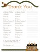 Thank You in Pacific Languages (3rd-5th)