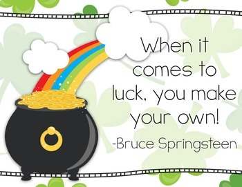 Thank Your Lucky Clover for Music - St. Patty's Music Advocacy Bulletin Board