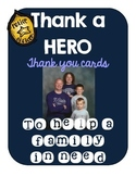 Thank a HERO: Thank you cards! {Proceeds go to a fallen HERO's family}