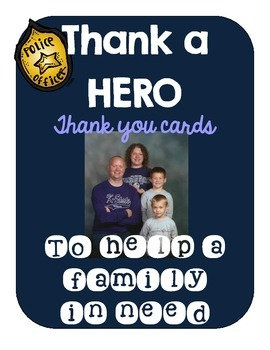 Thank a HERO: Thank you cards! {Proceeds go to a fallen HE
