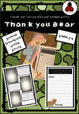 Thank you Bear Directed Drawing and Writing Task, Memorial