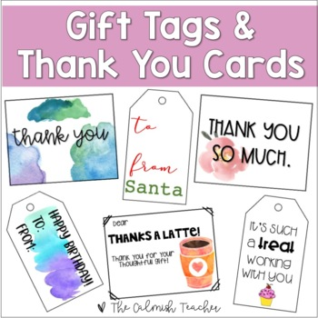 Thank you Cards & Gift Tags
